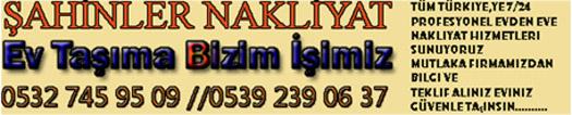 �ahinler Nakliyat - 11.01.2015